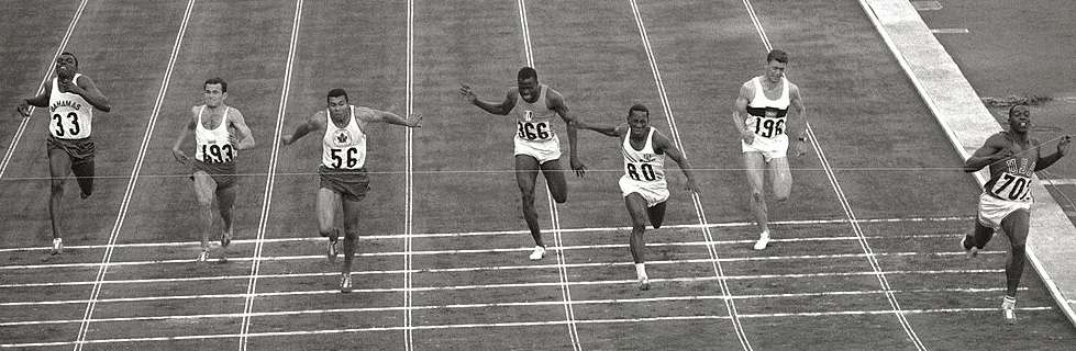 1964 Tokyo Olympic games | 100 m final race