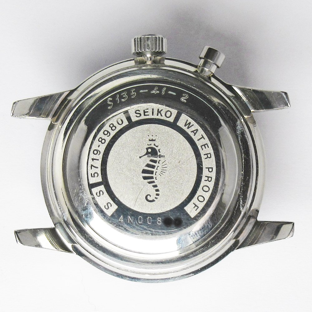 SEIKO Crown 5719 8980 Caseback | 1964