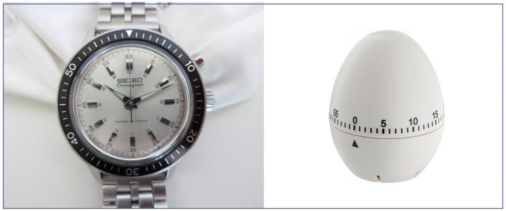 SEIKO Crown 5719 | The perfect egg cooking timer. © Jerry