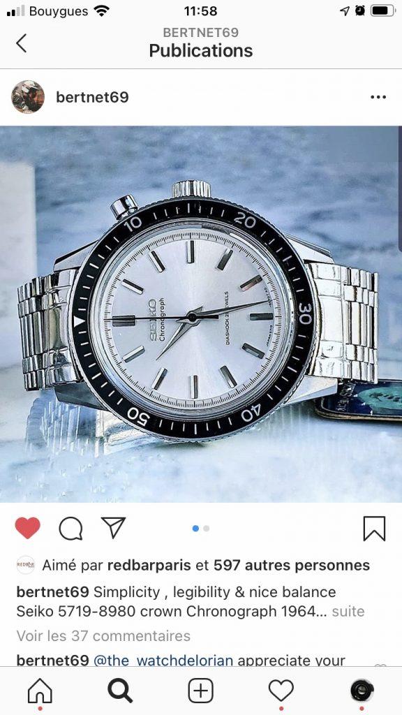SEIKO Crown 5719 on bertnet69 instagram thread_Copyright bertnet69