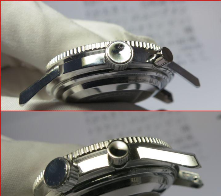 SEIKO Crown 5719 8992 Crown and Pusher