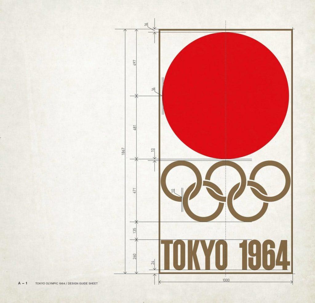 Tokyo-Olympics-1964-Logo-Design-Guide-Sheet