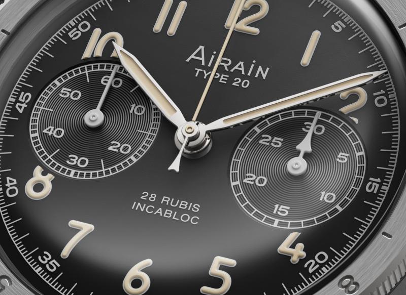 AIRAIN Type 20 Reedition. © Airainwatches