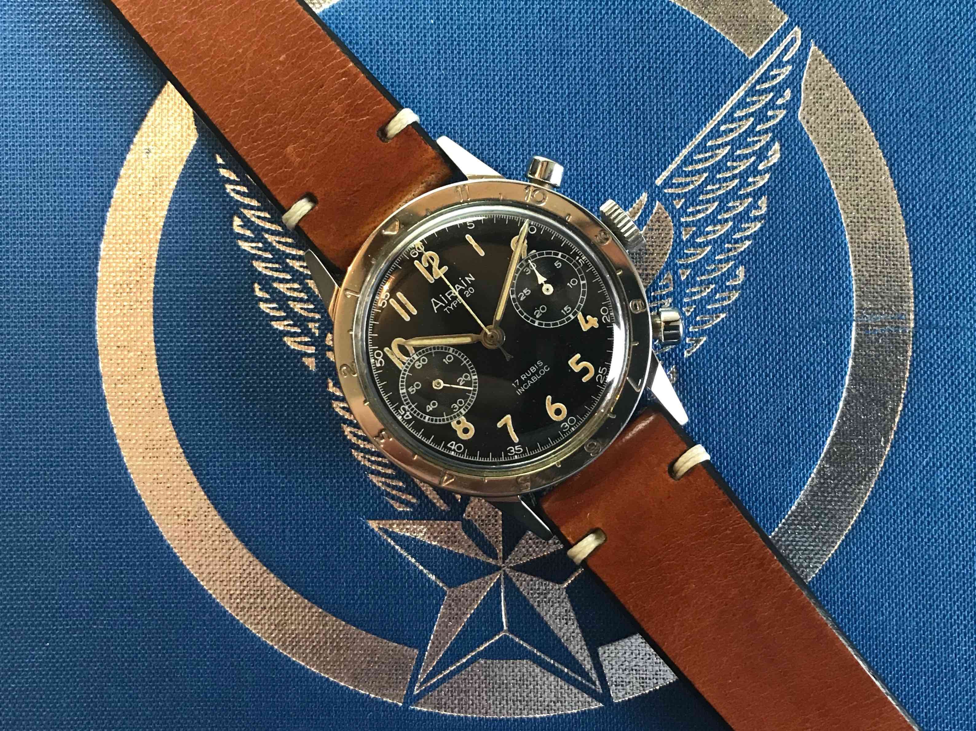 AIRAIN Type 20 | A very collectible military chronograph. ©Jerry