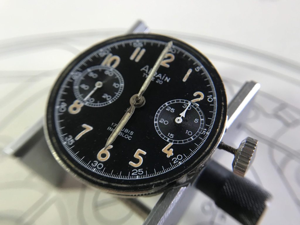 AIRAIN Type 20 | Restored minutes sub-dial