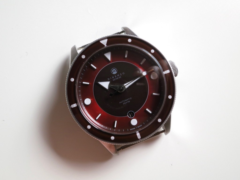 DIRENZO DRZ 03 Burgindy red