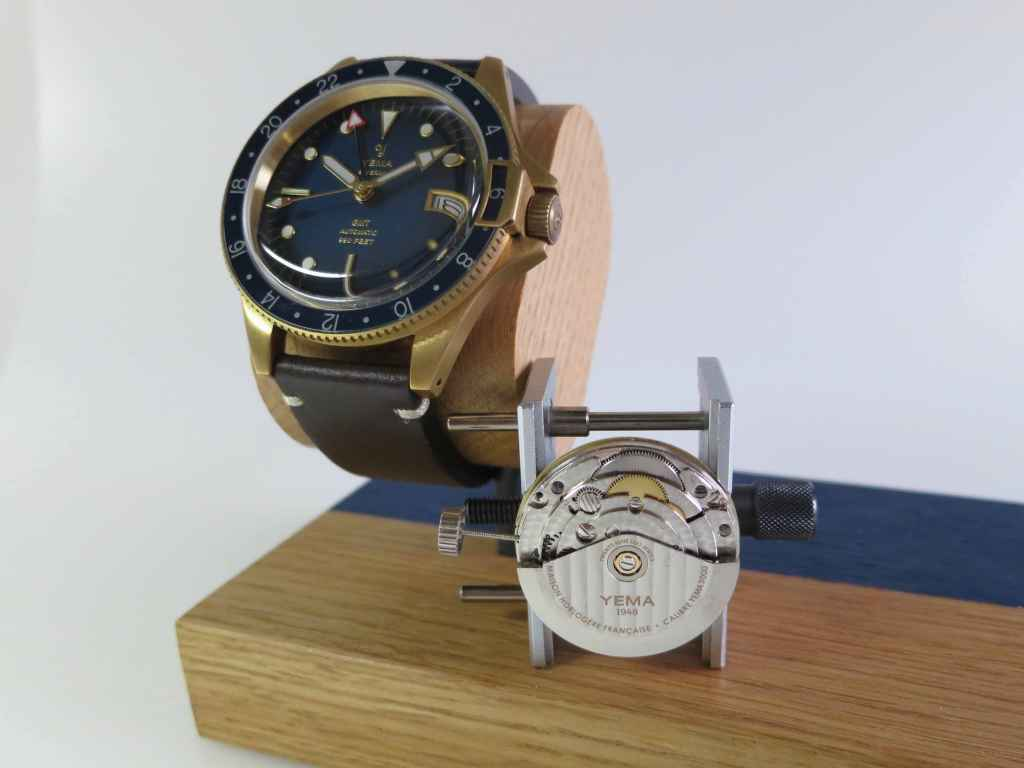 YEMA Superman GMT & YEM00 caliber.