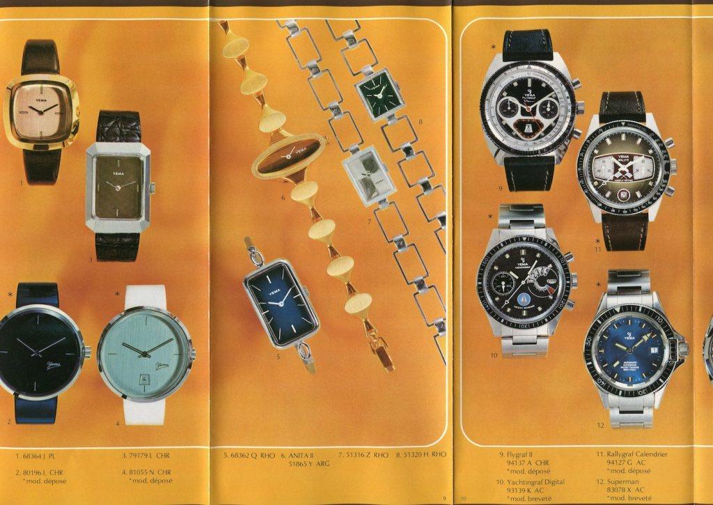 YEMA Yachtingraf advertising 1975
