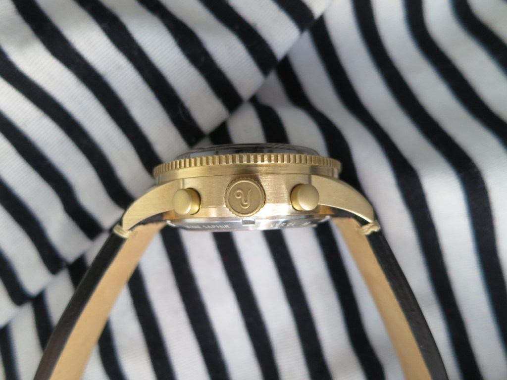 YEMA Yachtingraf bronze thik case - Jerry