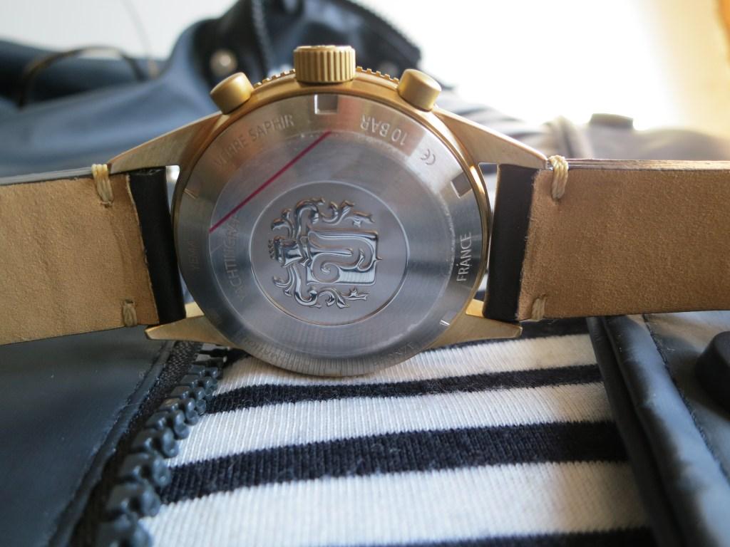 YEMA Yachtingraf Bronze screwed caseback-Jerry