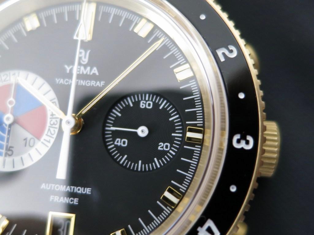 YEMA Yachtingraf Bronze minutes subdial-Jerry