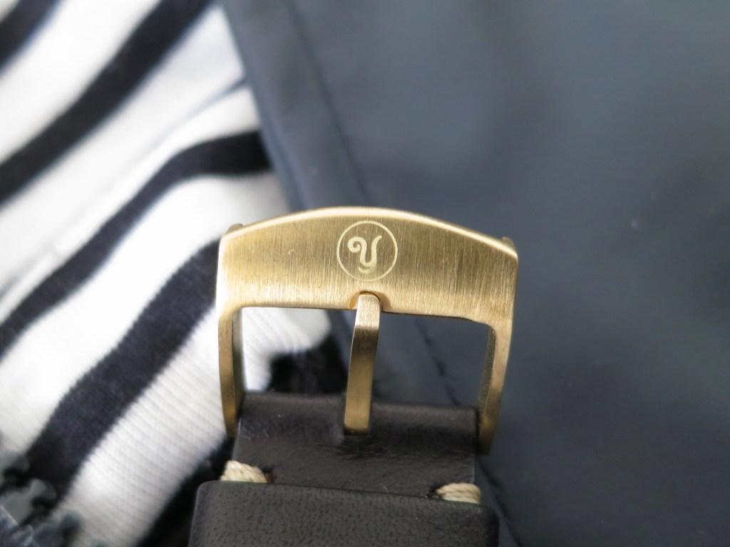 YEMA Yachtingraf Bronze strap buckle-Jerry