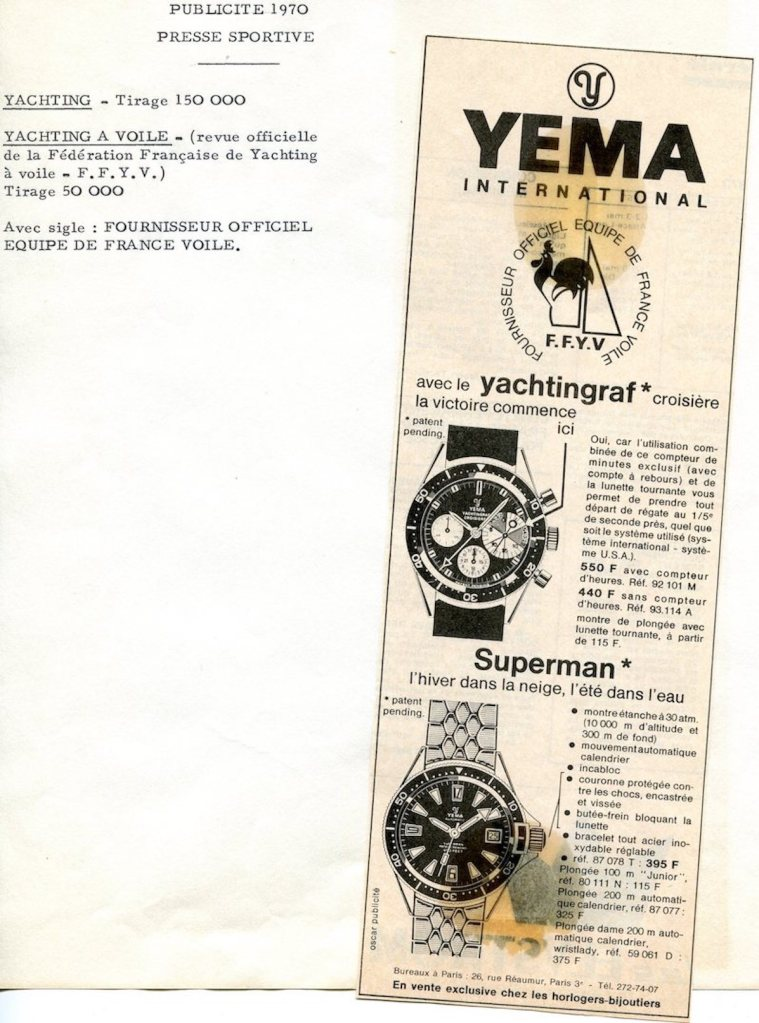 YEMA Official partner of the French Yachting Federation - YEMA Archives