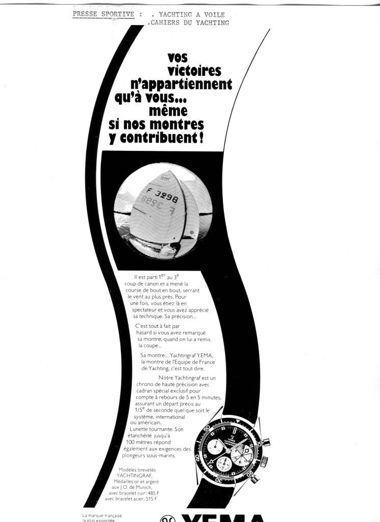 YEMA Yachtingraf Croisiere Advertising