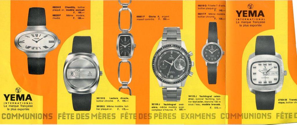 YEMA Yachtingraf Croisière 92106 J advertising