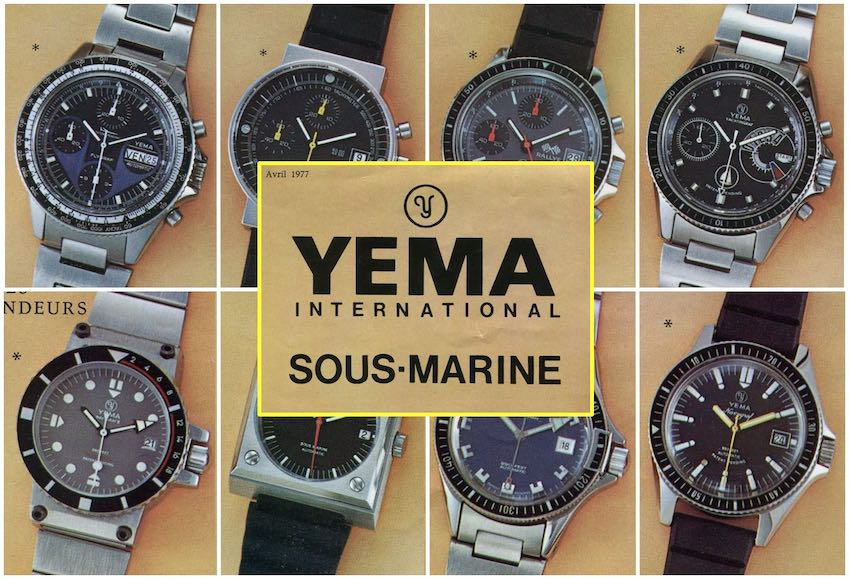 YEMA-Collection-April 1977-Catalog extract-Copyright Jerry