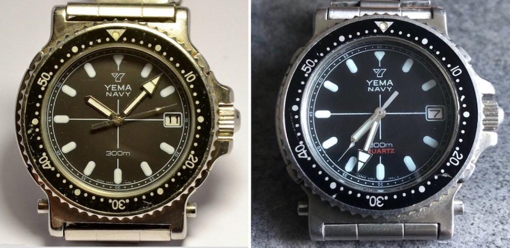 YEMA Navy RT.043.6.TR - Two dials