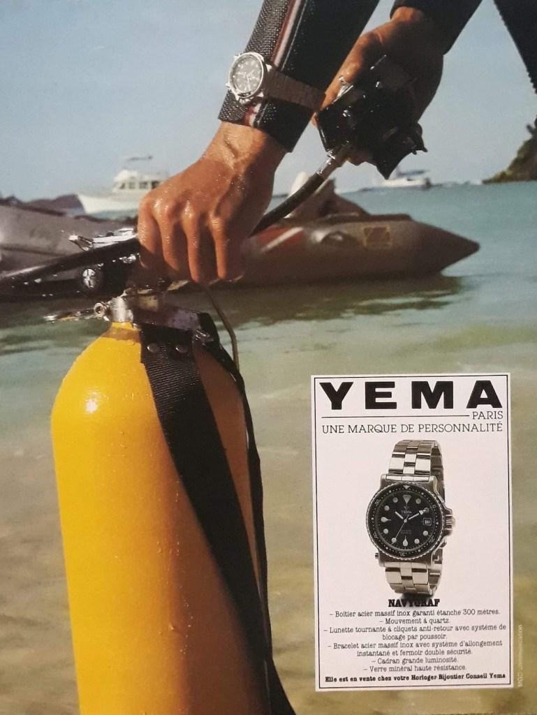 YEMA Advertising - YEMA Navygraf 3 T9 043 6. First edition