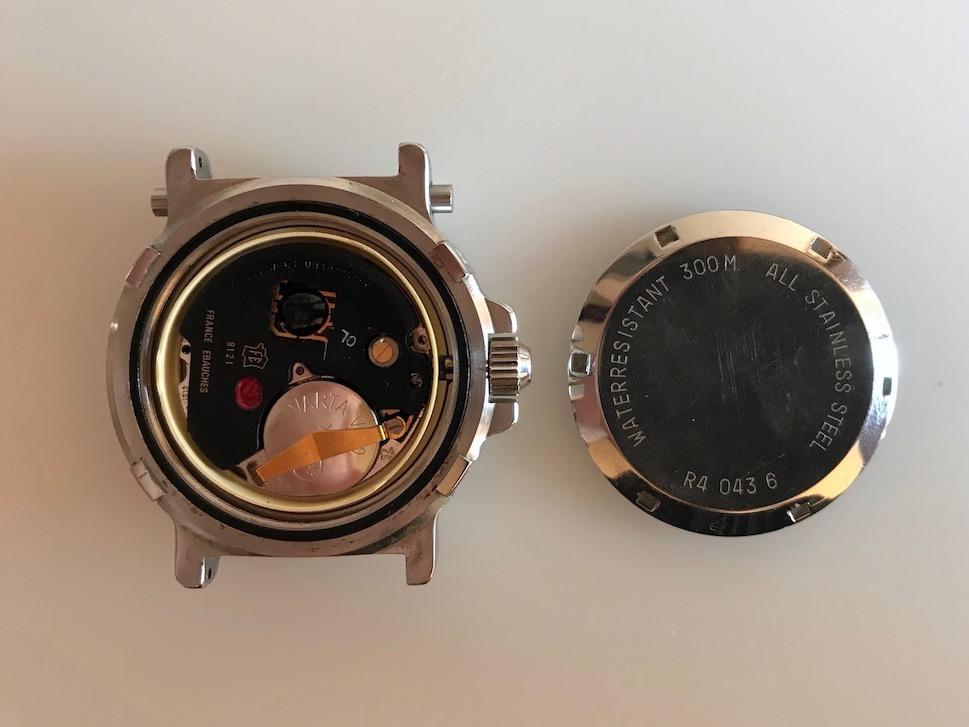 YEMA Navygraf 3 Ref R4 043 6   Quartz movement FE 8121-Jerry-Clockmetender