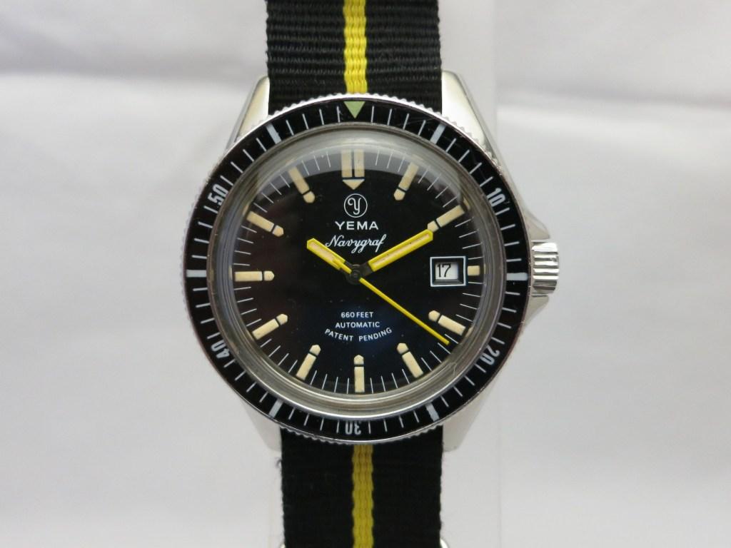 YEMA Navygraf | Ref. 55.003.6 AS - 1977 ©Jerry
