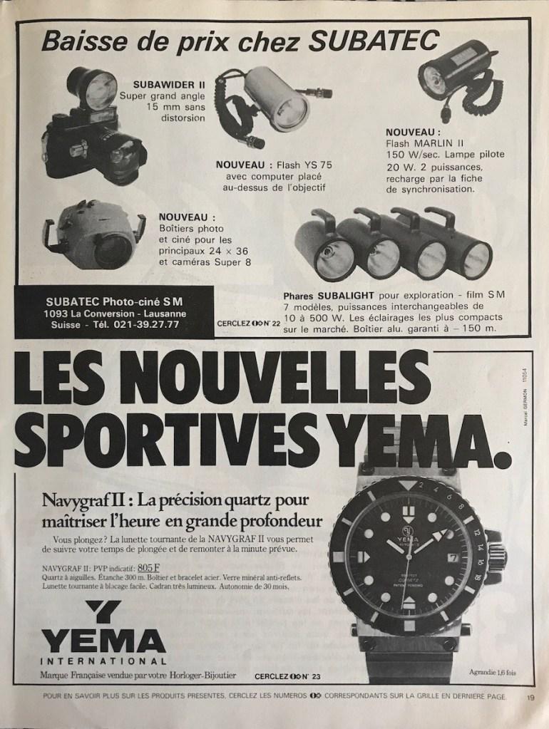 YEMA Advertising. Navygraf II 25.025.6. AC