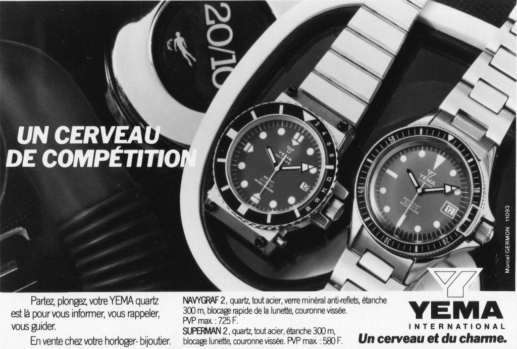 YEMA Navygraf II 25.025.6 advertising Publicité