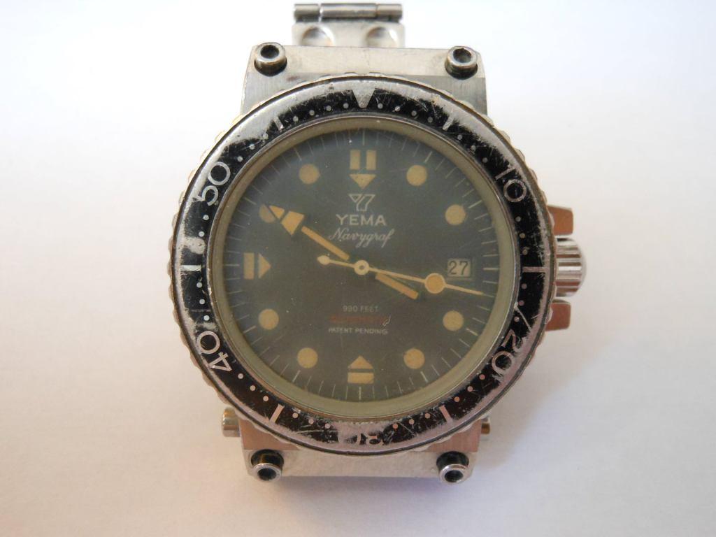 """YEMA Navygraf II 55.025.6 CT """"DGSE"""""""