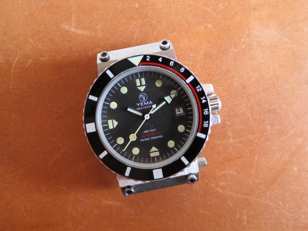 YEMA 55 025 6 - Brushed black dial -Credit jerry