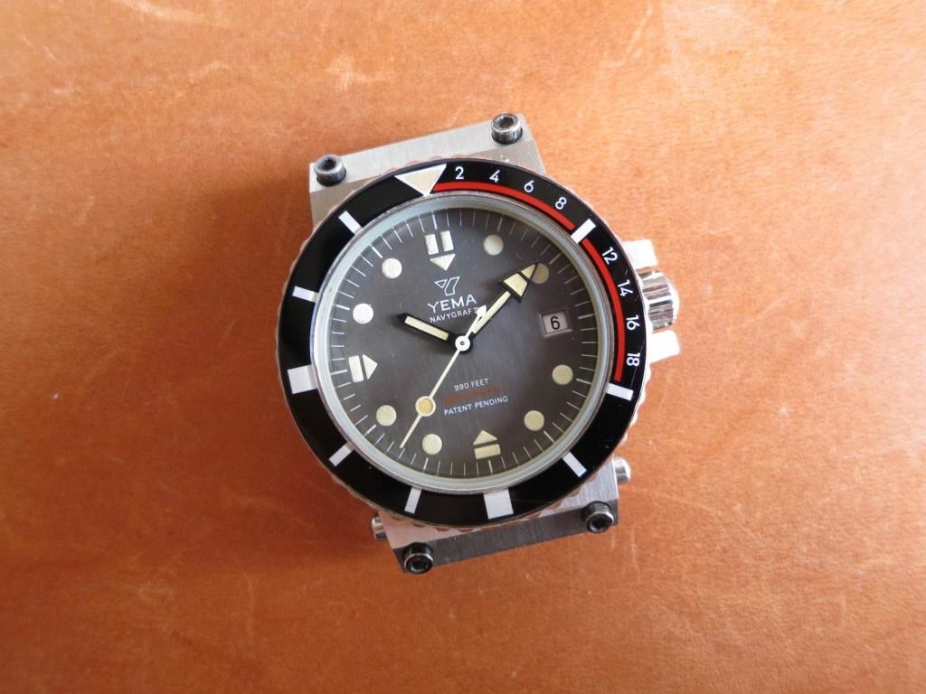 YEMA Navygraf II 55 025 6 - Brushed grey dial.credit Jerry