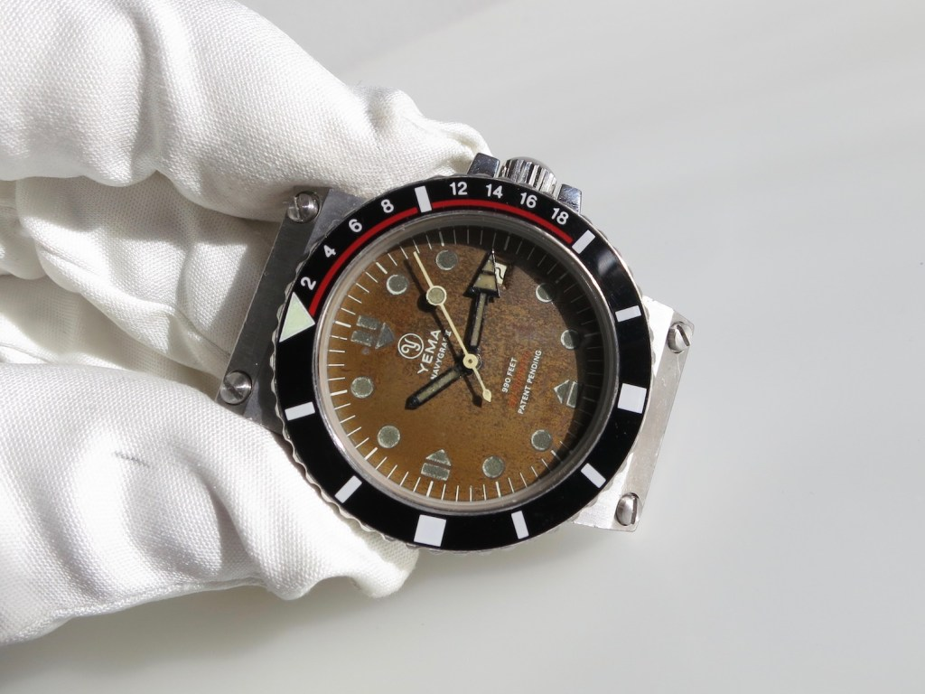YEMA Navygraf 961 122 | Black dial, circled logo, automatic FE 4611