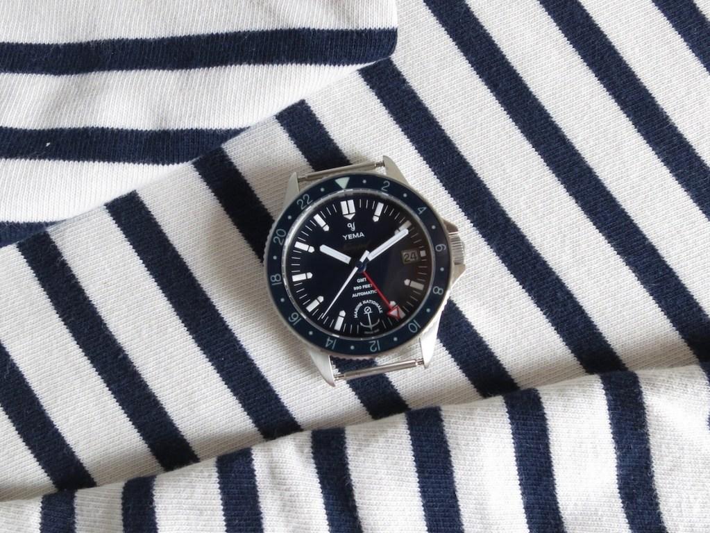 YEMA Navygraf Marine NAtionale GMT - A very readable watch - Jerry