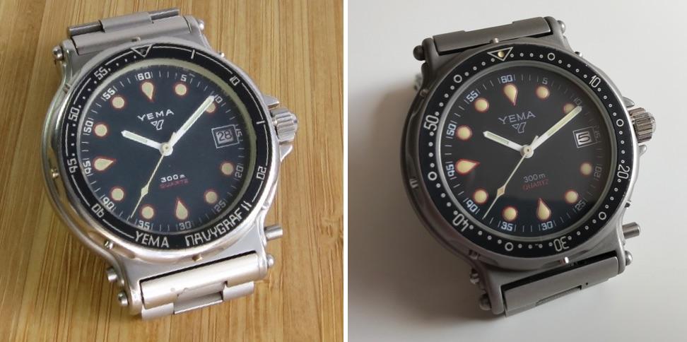 "YEMA Navygraf II ""CGH"" T.90.N.16 - Credit Jerry-Clockmetender"