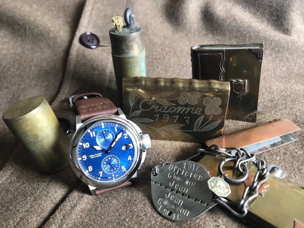 WALTHAM Fiel and Marine - Trench Watch - Credit Jerry