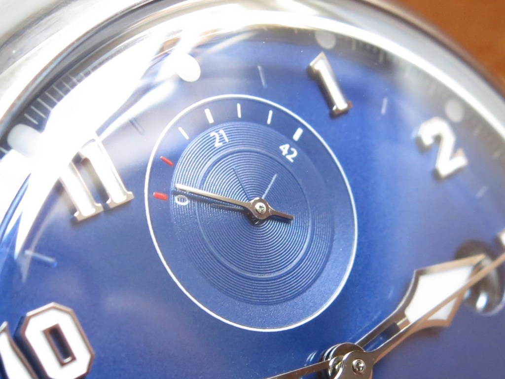 WALTHAM Field and Marine - Power reserve microgroove sub counter - Jerry